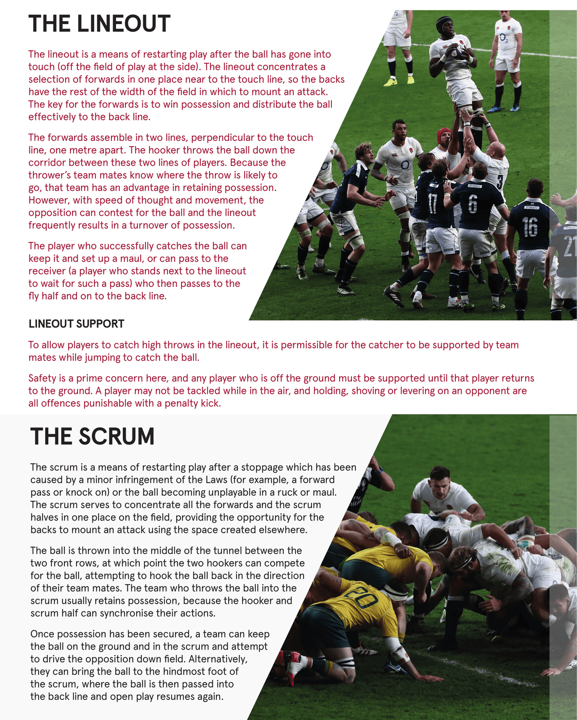 Beginners Guide to Rugby Pg 2