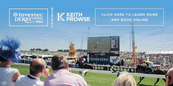 Investec Derby Festival - Learn More and Book Now