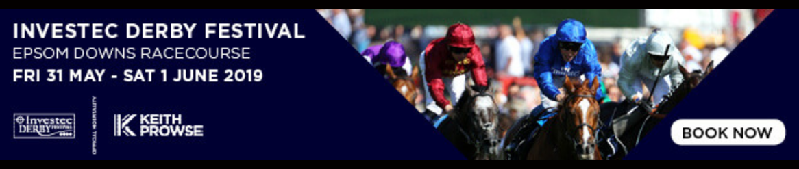 Investec Derby Festival - Friday 31st May - 1st June