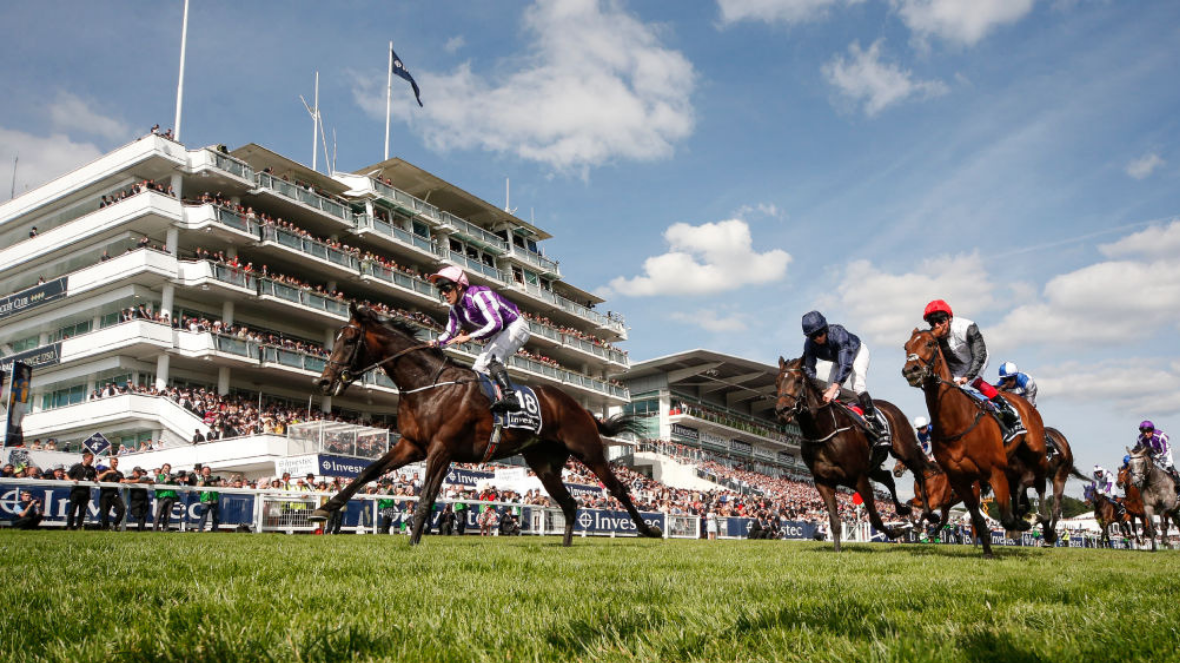 The Epsom Derby - horse racing