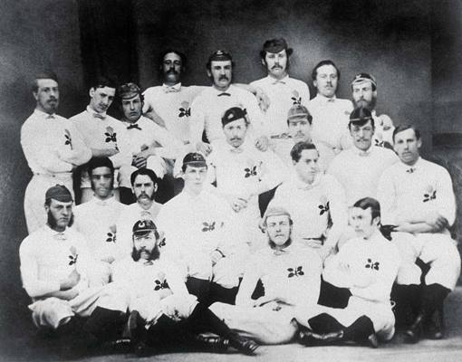England Rugby Team in 1871