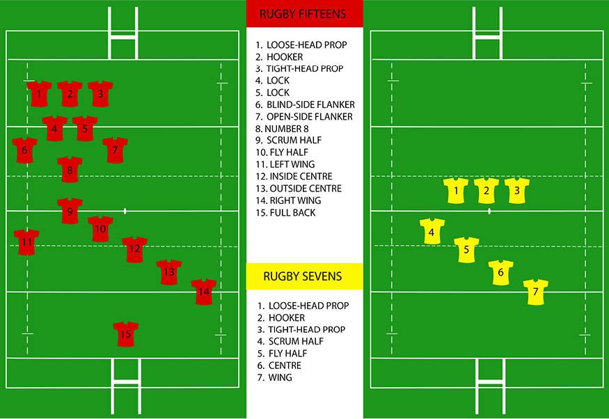 Rugby union positions