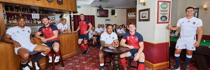 England RWC players