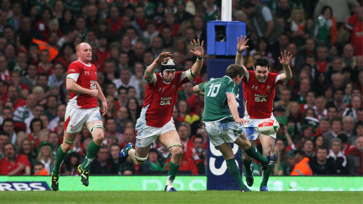 The 10 greatest moments in the history of the Six Nations | Ronan O'Gara Grand Slam Winning Drop Goal