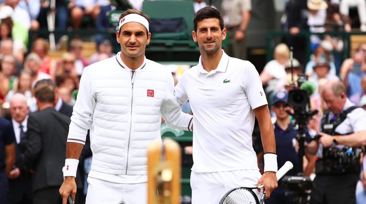 The Championships Wimbledon 2019 final - Federer vs Djokovic