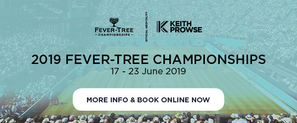 Fever-Tree Championships 2019 Hospitality - Book Now