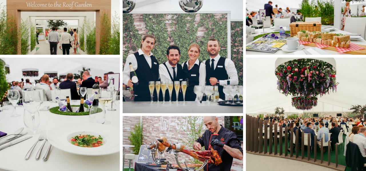 Fever-Tree Championships Hospitality Roof Garden