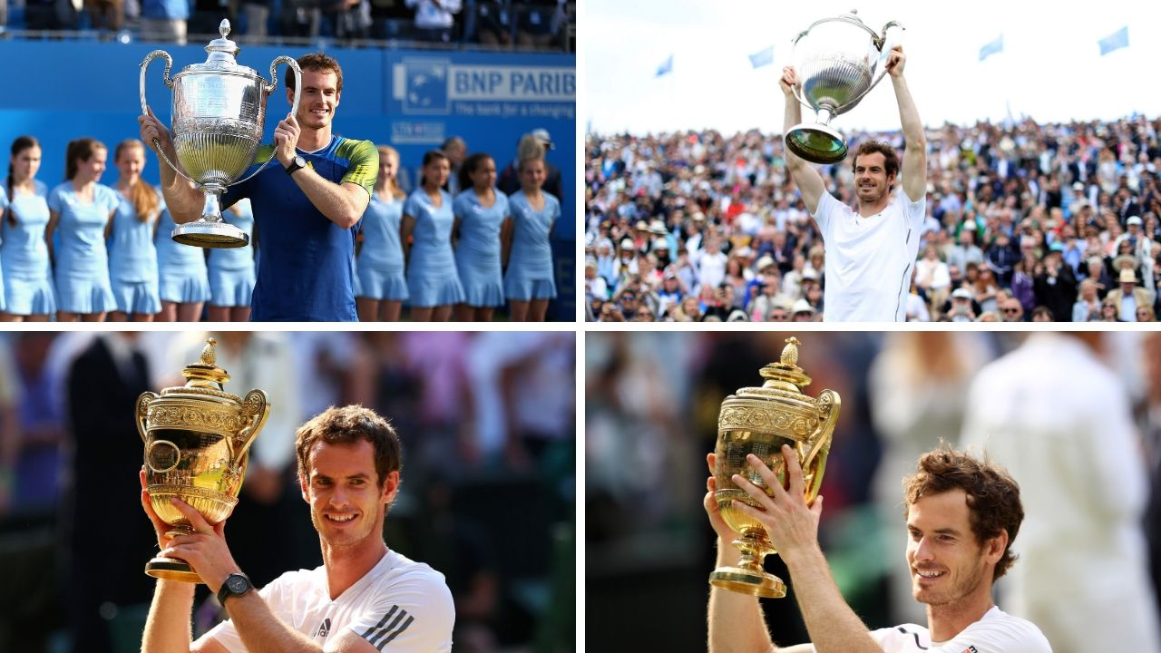 Andy Murray won the London double in both 2013 and 2016