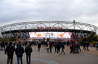 London stadium your view