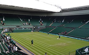 Centre court view